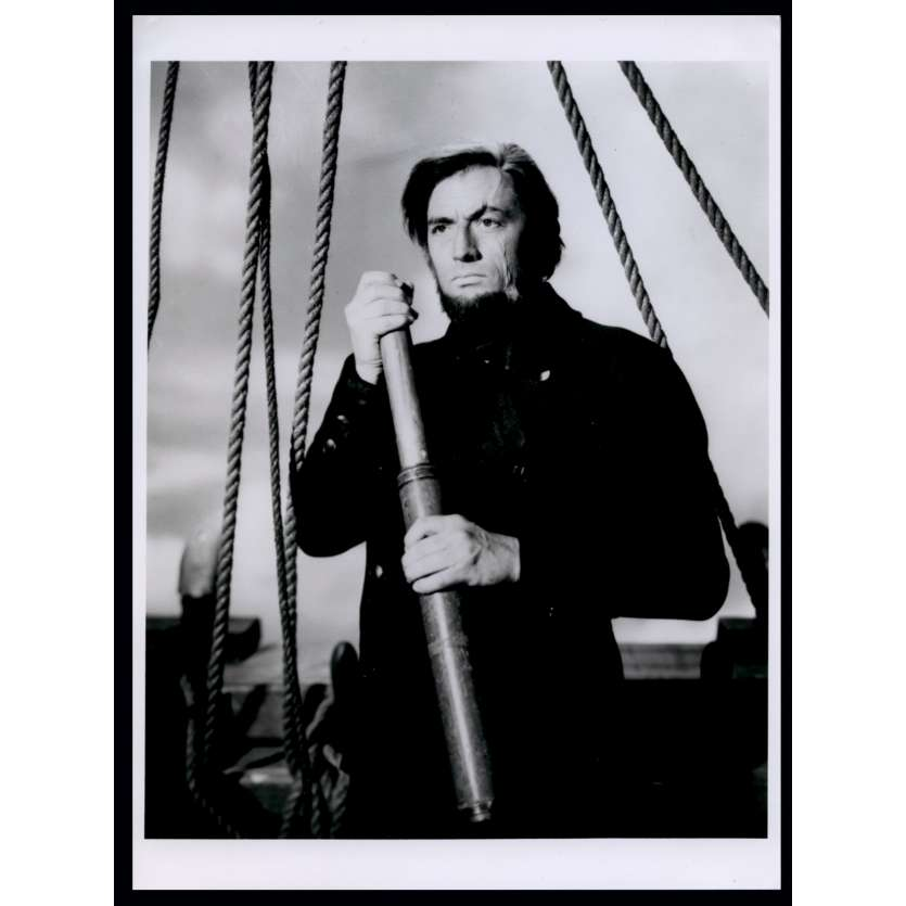MOBY DICK French Press Still N1 7x9 - R1970 - John Huston, Gregory Peck
