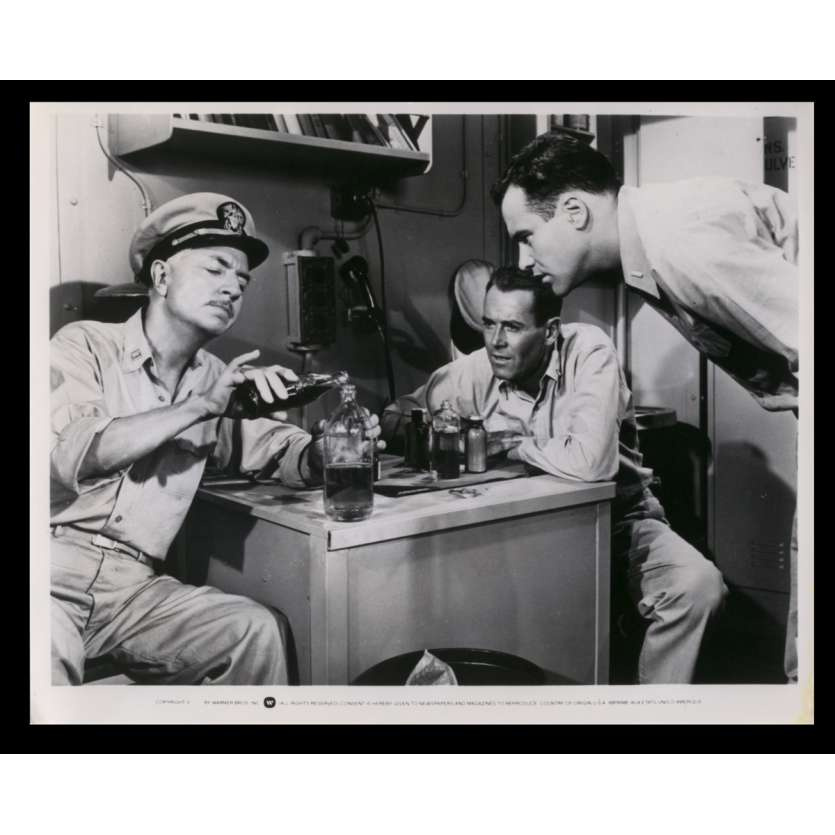 PERMISSION JUSQU'À L'AUBE Photo de presse 18x24 - R1970 - Henry Fonda, John Ford