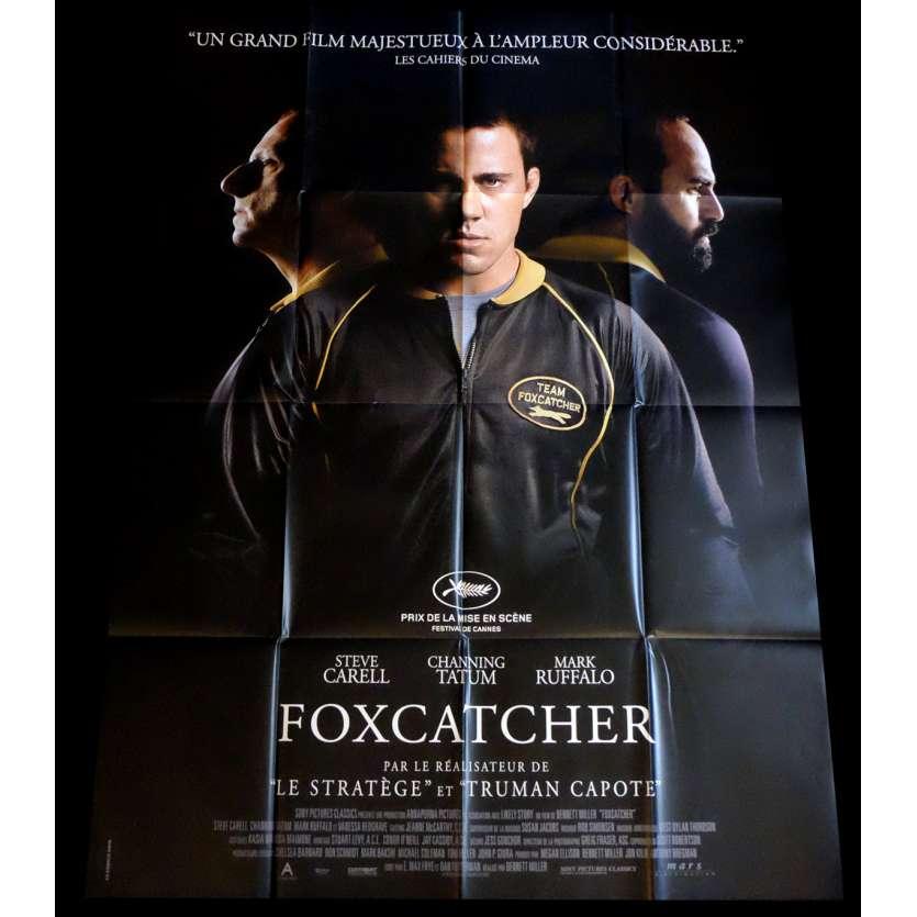 FOXCATCHER Affiche de film 120x160 - 2014 - Steve Carell, Benett Miller