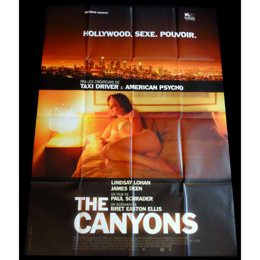THE CANYONS French Movie Poster 47x63 - 2013 - Paul Shrader, Lindsay Lohan