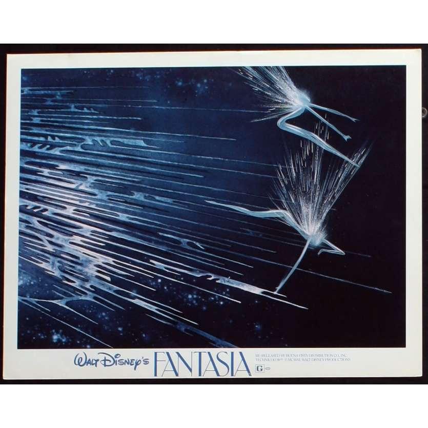 FANTASIA US Lobby Card N1 11x14 - R1982 - Walt Disney, Deems Taylor