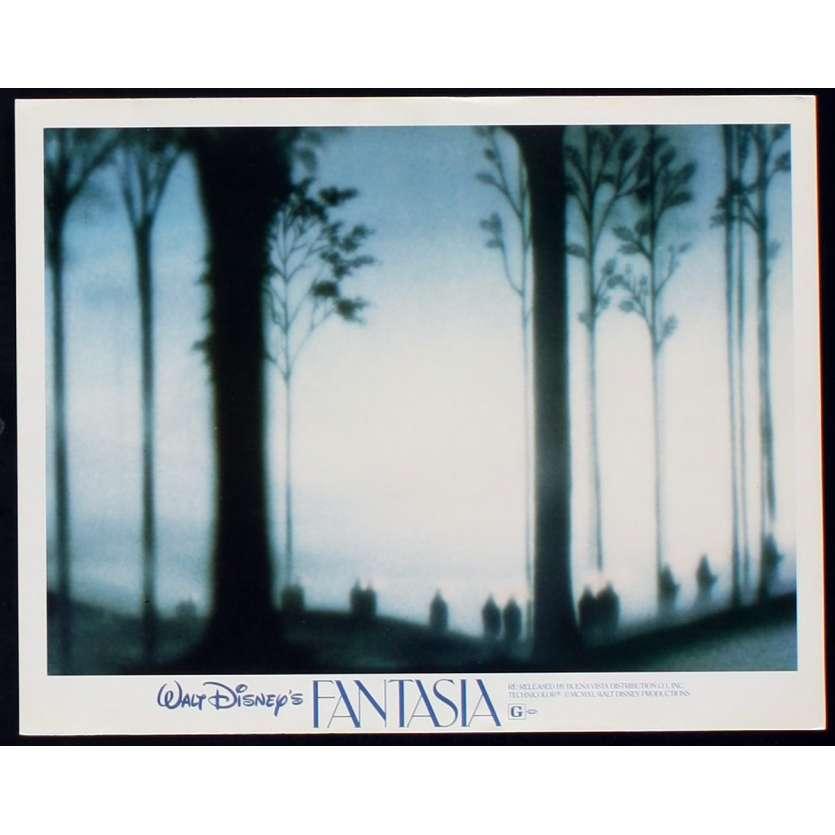 FANTASIA US Lobby Card N4 11x14 - R1982 - Walt Disney, Deems Taylor