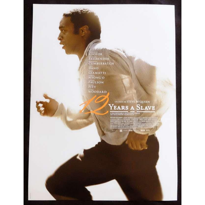 12 YEARS A SLAVE Affiche de film 40x60 - 2013 - Michael Fassbender, Steve McQueen