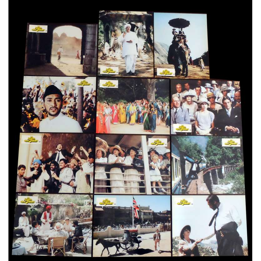 PASSAGE TO INDIA French Lobby Cards 9x12 - 1984 - David Lean, Judy Davis