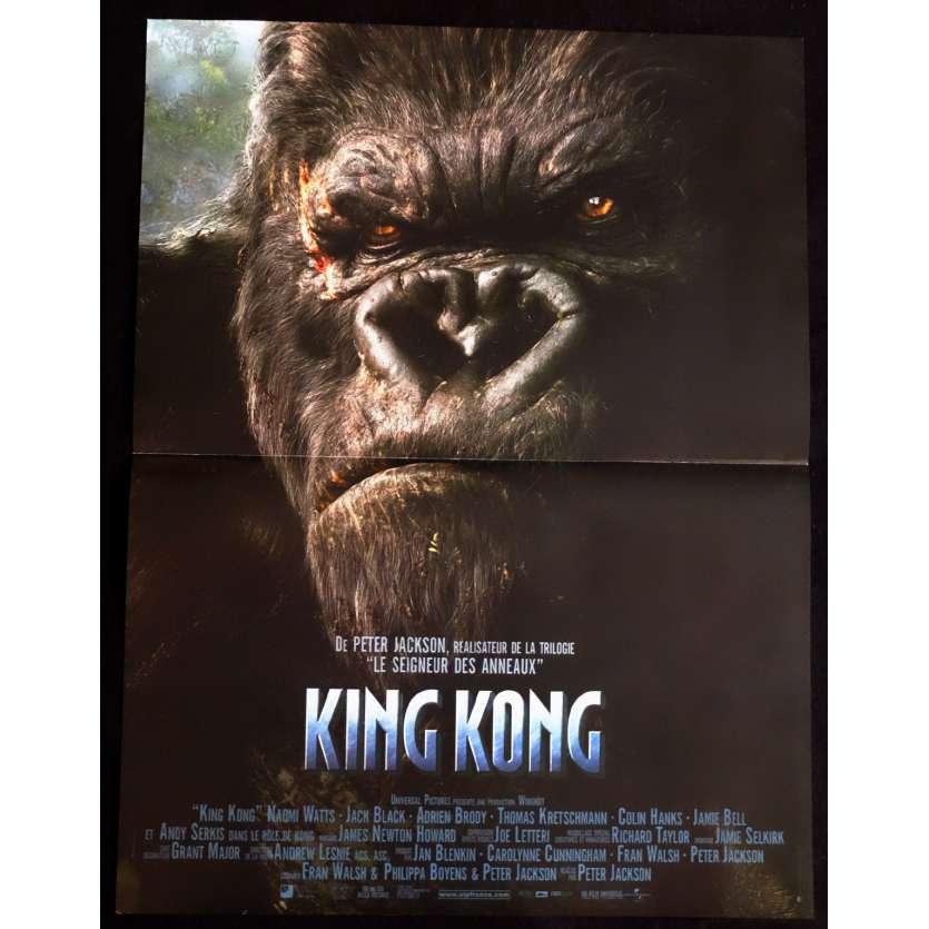 KING KONG Affiche de film 40x60 - 2005 - Naomi Watts, Peter Jackson
