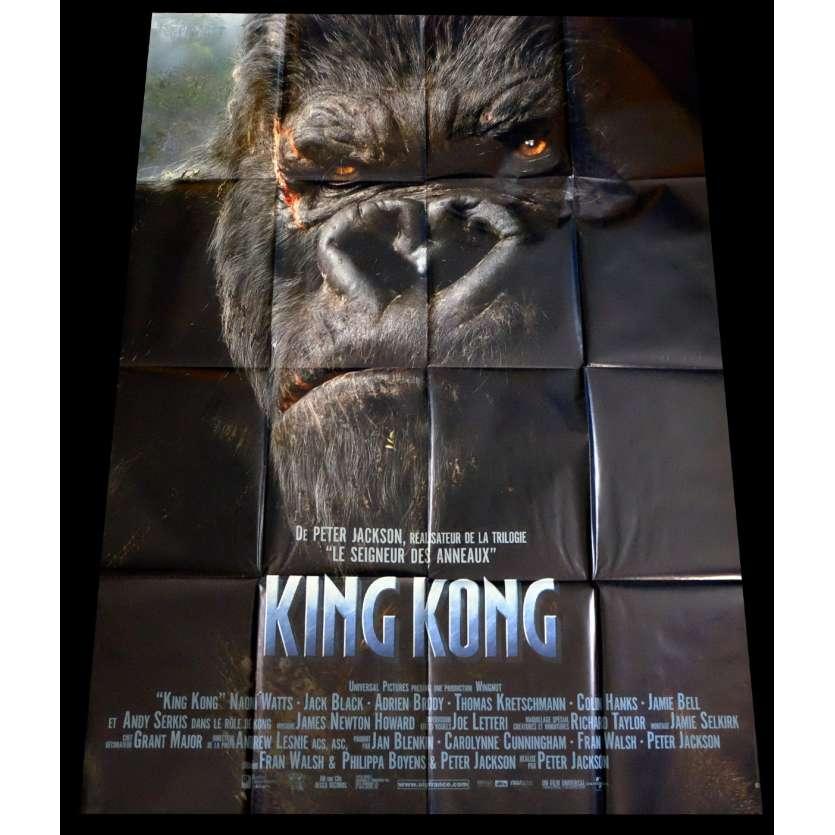 KING KONG Affiche de film 120x160 - 2005 - Naomi Watts, Peter Jackson