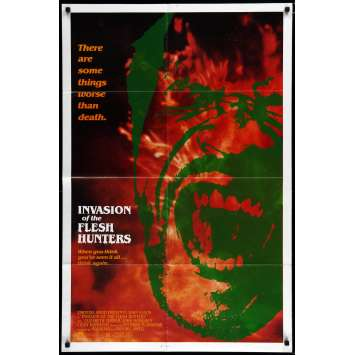INVASION OF THE FLESH HUNTERS US Movie Poster 29x41 - R1983 - Antonio Margheriti, John Saxon