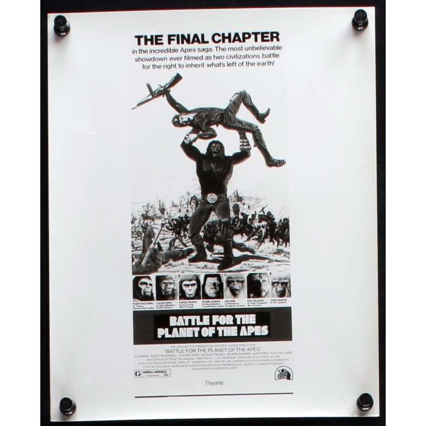 BATTLE FOR THE PLANET OF THE APES US Movie Still N2 8x10 - 1973 - J. Lee Thompson, Roddy McDowall