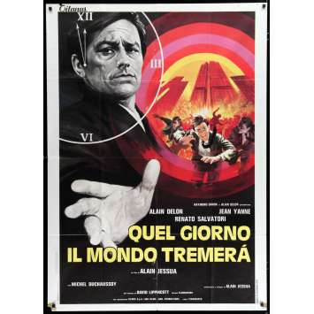ARMAGUEDDON Italian Movie Poster 35x55 - 1977 - Alain Jessua, Alain Delon