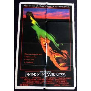 PRINCE DES TENEBRES Affiche de film 69x104 - 1987 - Donald Pleasence, John Carpenter