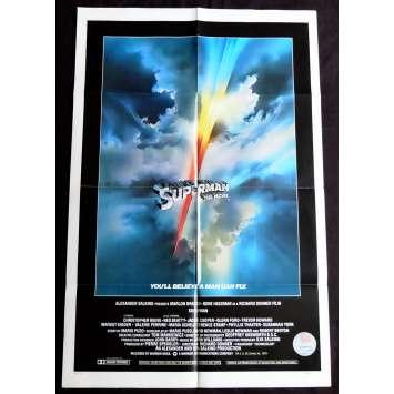 SUPERMAN Affiche de film Intl. 69x104 - 1978 - Christopher Reeves, Richard Donner