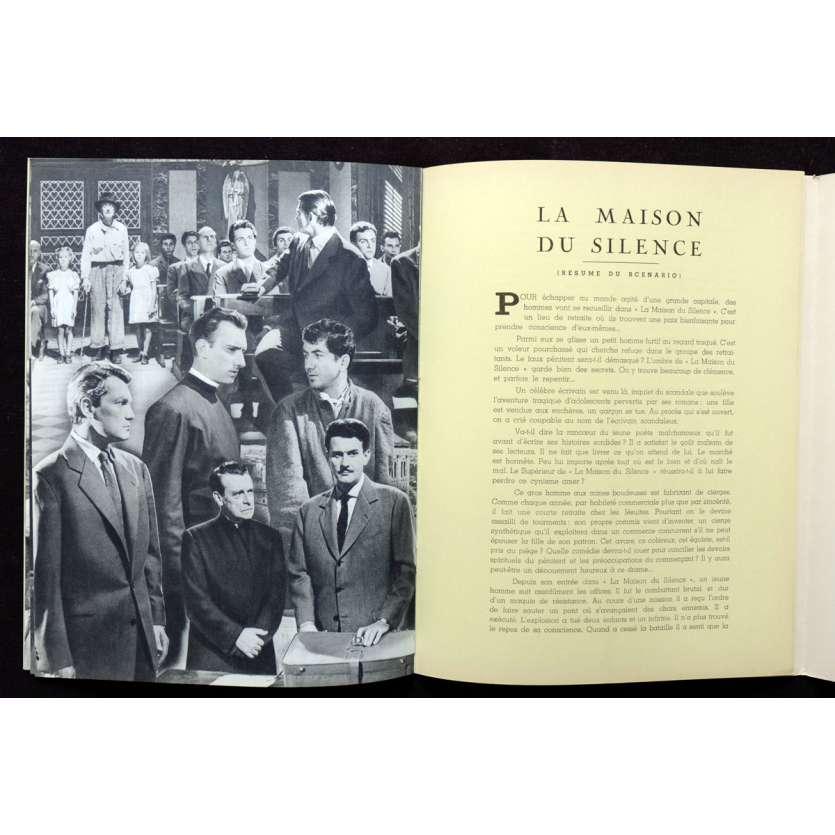 LA MAISON DU SILENCE Dossier de presse 18p 21x30 - 1953 - Jean Marais, Georg Wilhem Pabst