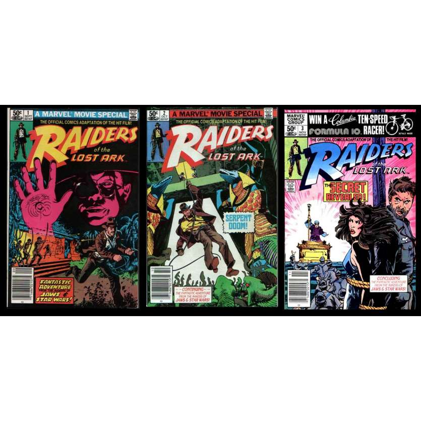 RAIDERS OF THE LOST ARK US Comic Book 9x12- 1981 - Steven Spielberg, Harrison Ford