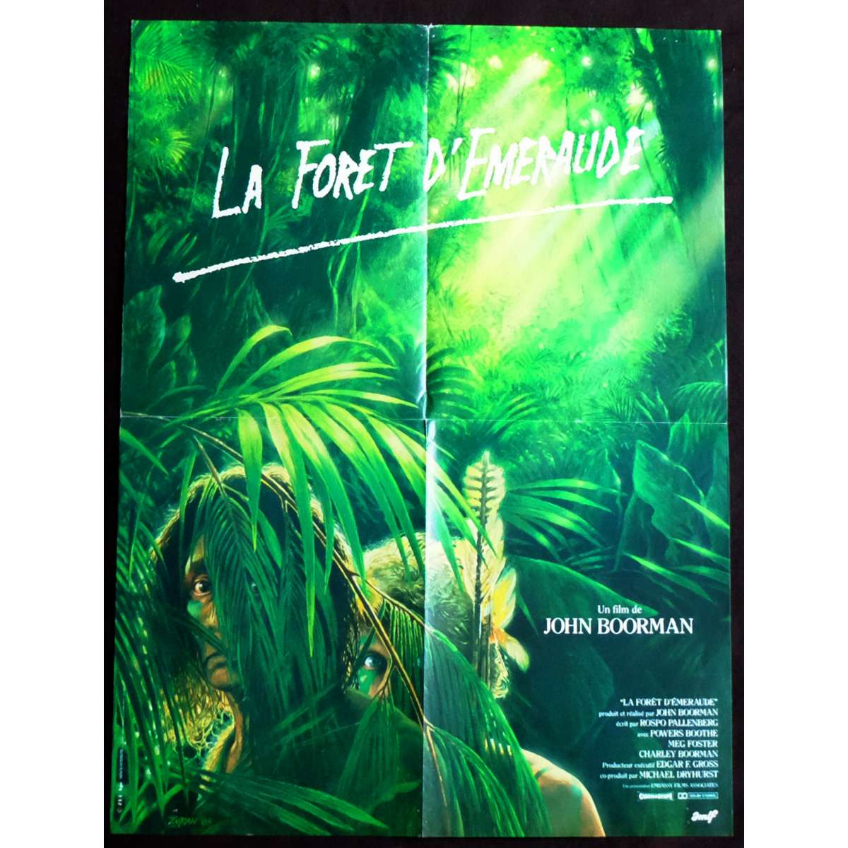 a review of the emerald forest a movie by john boorman Overview of emerald forest, the, 1985, directed by john boorman, with powers boothe, meg foster, charley boorman, at turner classic movies.