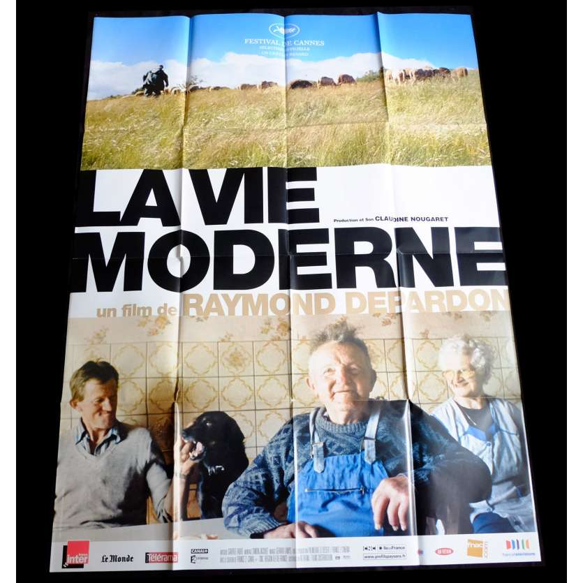 MODERN LIFE French Movie Poster 47x63 - 2008 - Raymond Depardon,