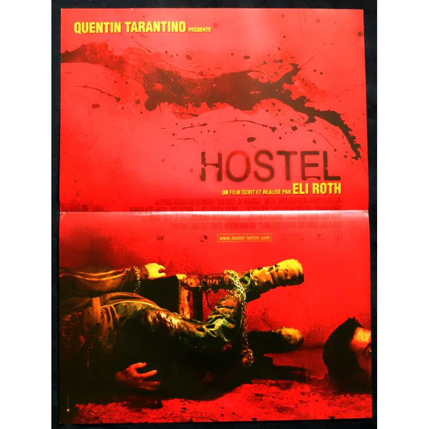 HOSTEL Affiche de film 40x60 - 2005 - Jay Hernandez, Eli Roth