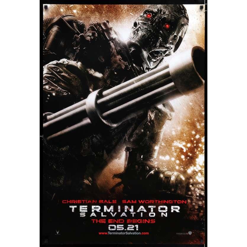 TERMINATOR RENAISSANCE Style B Affiche de film 69x104 - 2009 - Christian Bale, McG