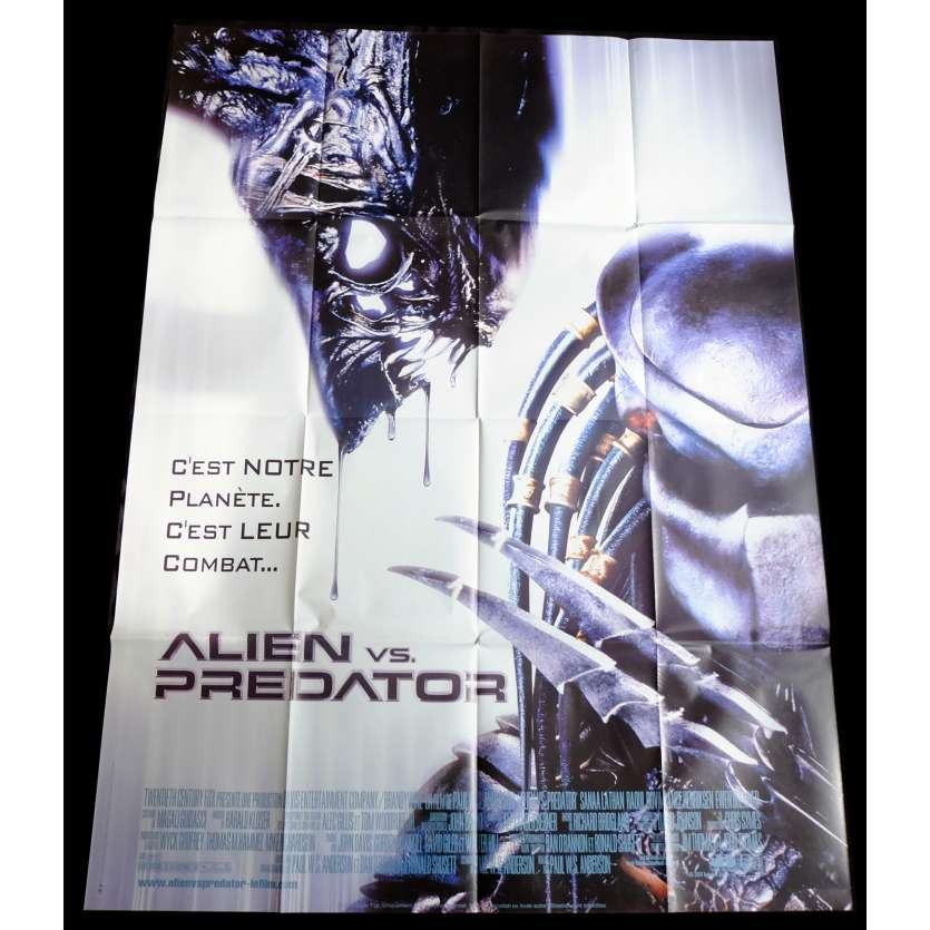 ALIEN VS PREDATOR French Movie Poster 47x63 - 2004 - Paul W. S. Anderson, Lance Henriksen