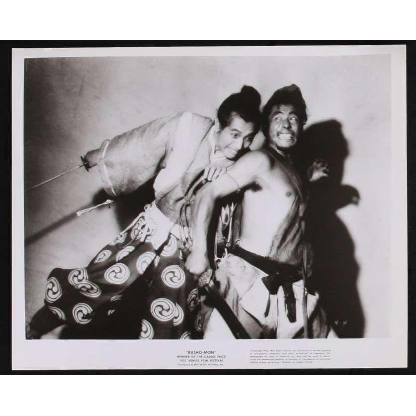 RASHOMON Photos de presse N3 20x25 - 1955 - Toshiro Mifune, Akira Kurosawa