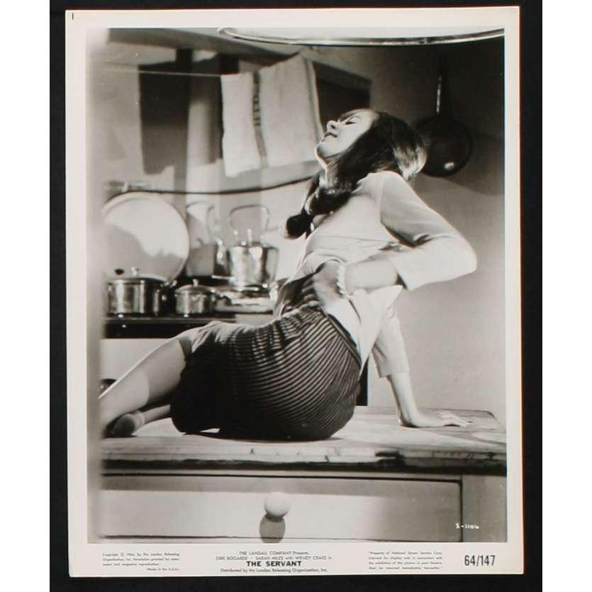 THE SERVANT Photo de film N4 20x25 - 1964 - Dirk Bogarde, Joseph Losey