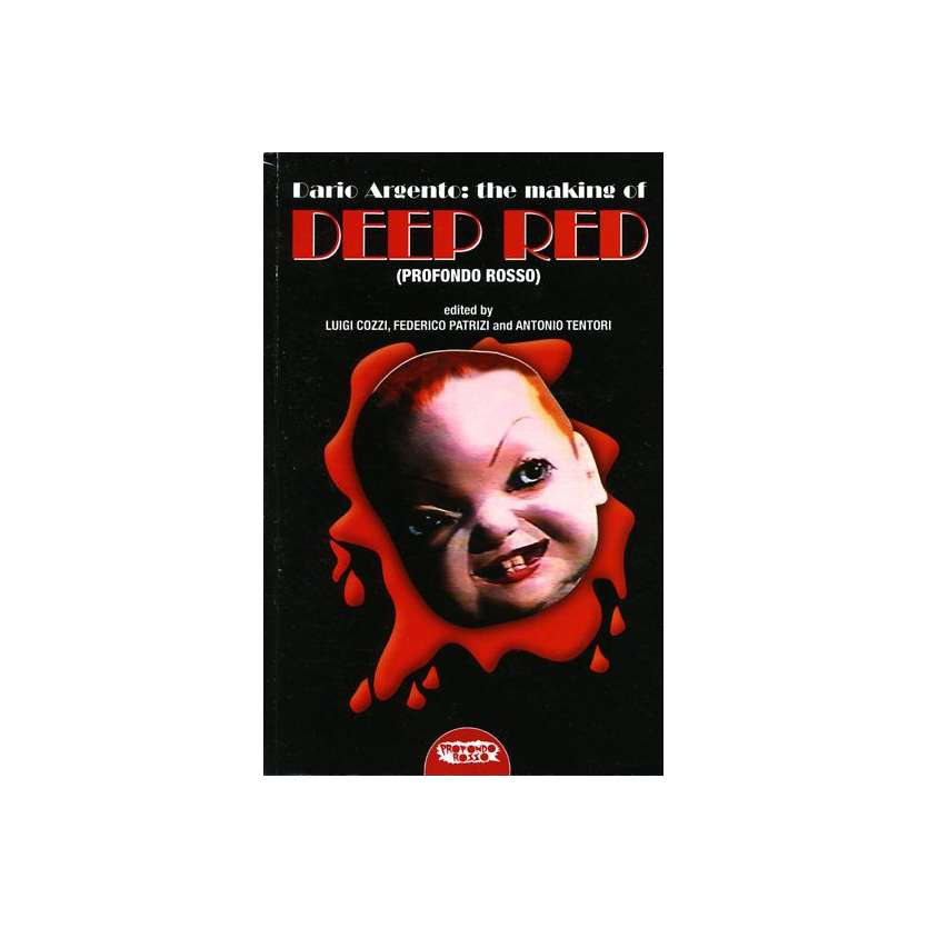 DEEP RED Book Making of signed by Luigi cozzi