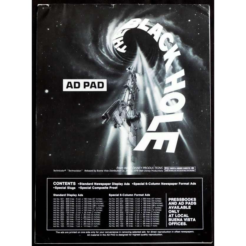 LE TROU NOIR Dossier de Presse 12p 28x38 - 1981 - Anthony Perkins, Walt Disney
