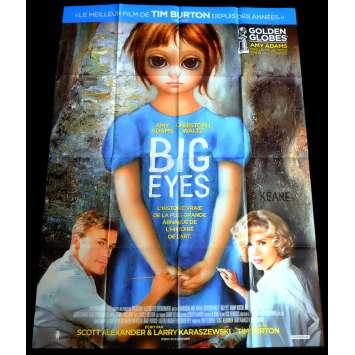 BIG EYES French Movie Poster 47x63 - 2015 - Tim Burton, Amy Adams