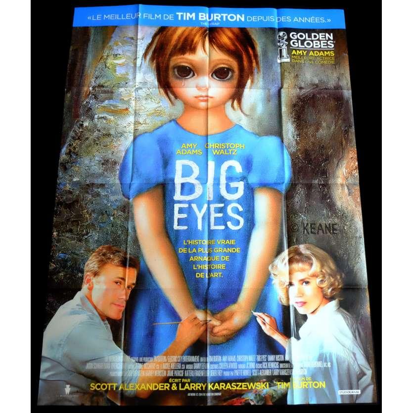 BIG EYES Affiche de film 120x160 - 2015 - Amy Adams, Tim Burton