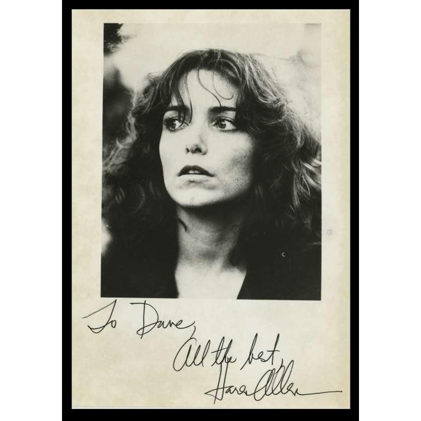 KAREN ALLEN Photo Signée 11x15 - 1990 - Indiana jones