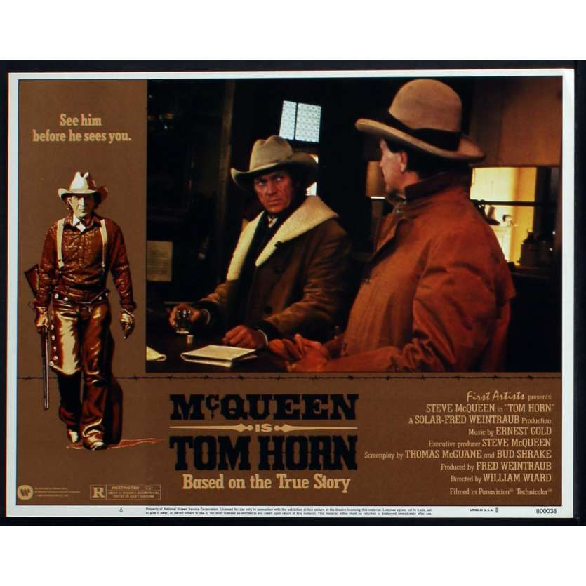 TOM HORN Photo de film N2 28x36 - 1980 - Steve McQueen, William Wiard