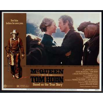 TOM HORN US Lobby Card N1 11x14 - 1980 - William Wiard, Steve McQueen
