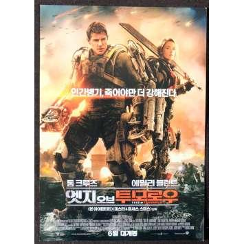 EDGE OF TOMORROW Korean Herald 7x10 - 2014 - Doug Liman, Tom Cruise