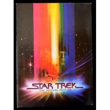 STAR TREK Programme de film 24p 21x30 - 1979 - William Shatner, Robert Wise