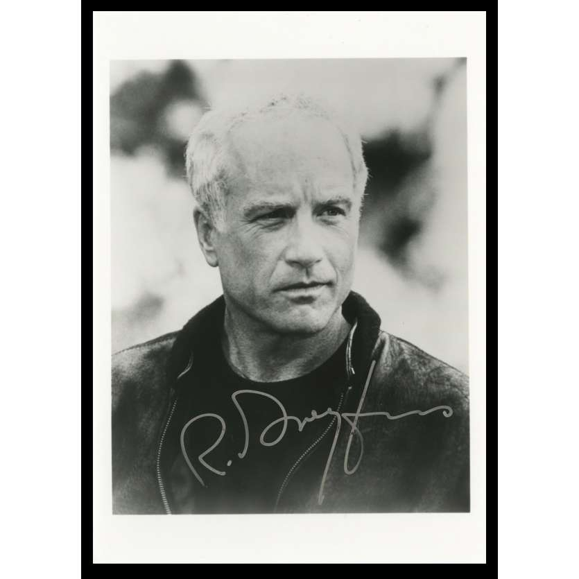 RICHARD DREYFUSS Photo Signée 12x18 - 1990, rencontres