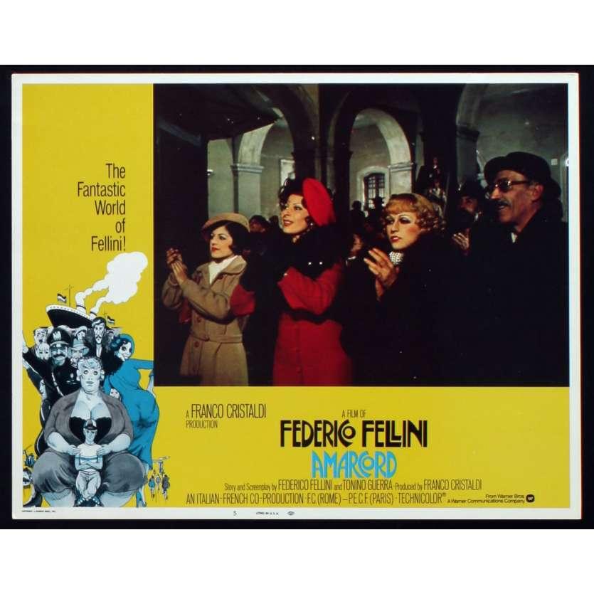 AMARCORD Photo de film N6 28x36 - 1974 - Magali Noel, Federico Fellini