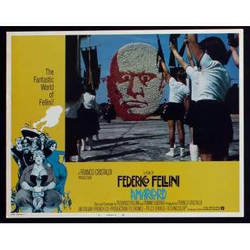 AMARCORD US Lobby Card N5 11x14 - 1974 - Federico Fellini, Magali Noel