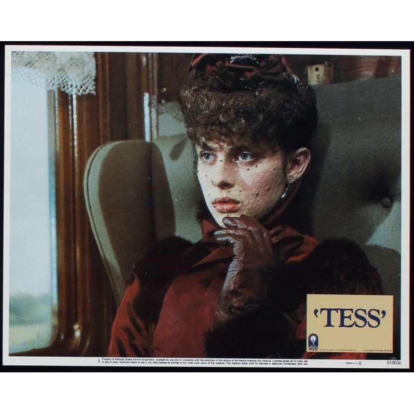 TESS US Lobby Card N6 11x14 - 1981 - Roman Polanski, Nastassja Kinski