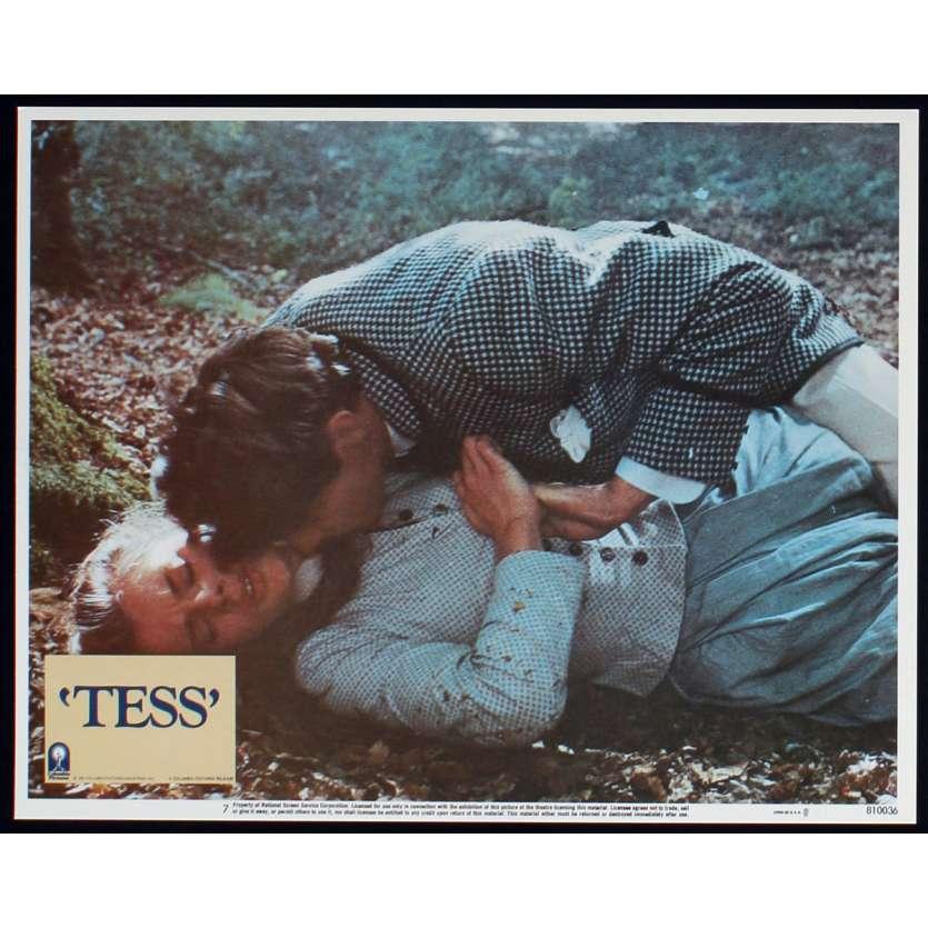 TESS US Lobby Card N3 11x14 - 1981 - Roman Polanski, Nastassja Kinski