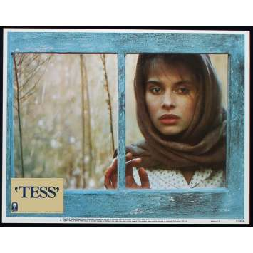 TESS US Lobby Card N2 11x14 - 1981 - Roman Polanski, Nastassja Kinski