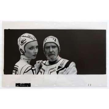 TRON US Transparent - Kodalith N4 20x12 - 1982 - Steven Lisberger, Jeff Bridges