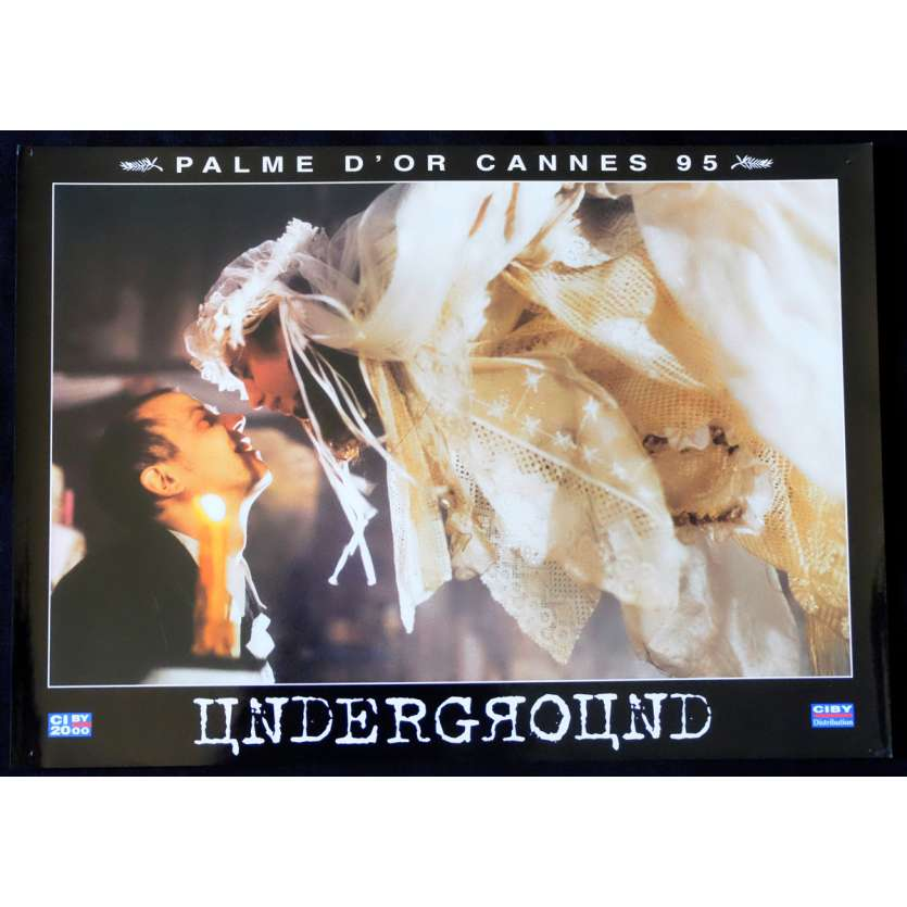 UNDERGROUND French Prestige Lobby Card N7 12x16 - 1995 - Emir Kusturica, Predrag Manojlovic