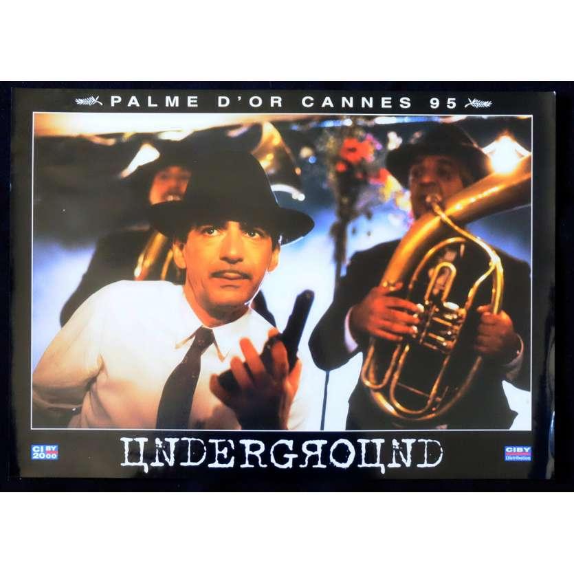UNDERGROUND French Prestige Lobby Card N6 12x16 - 1995 - Emir Kusturica, Predrag Manojlovic