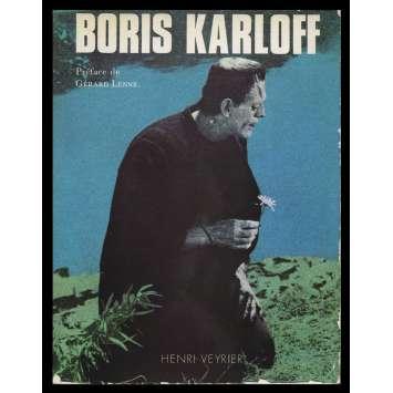 BORIS KARLOFF Softcover Book 286p - 1976 - Gérard Lenne, Henri Veyrier