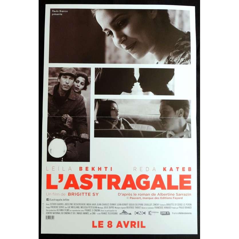 L'ASTRAGALE Affiche de Film 40x60 - 2014 - Reda Kateb, Leïla Bekhti, Brigitte Sy