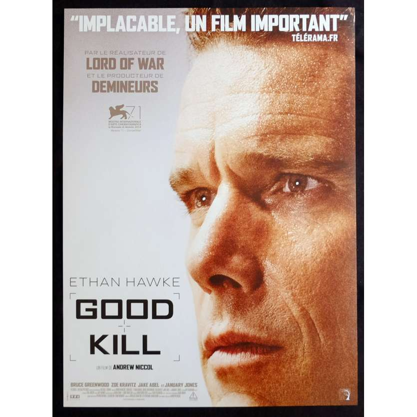 GOOD KILL French Movie Poster 15x21 - 2015 - Andrew Nicoll, Ethan Hawke