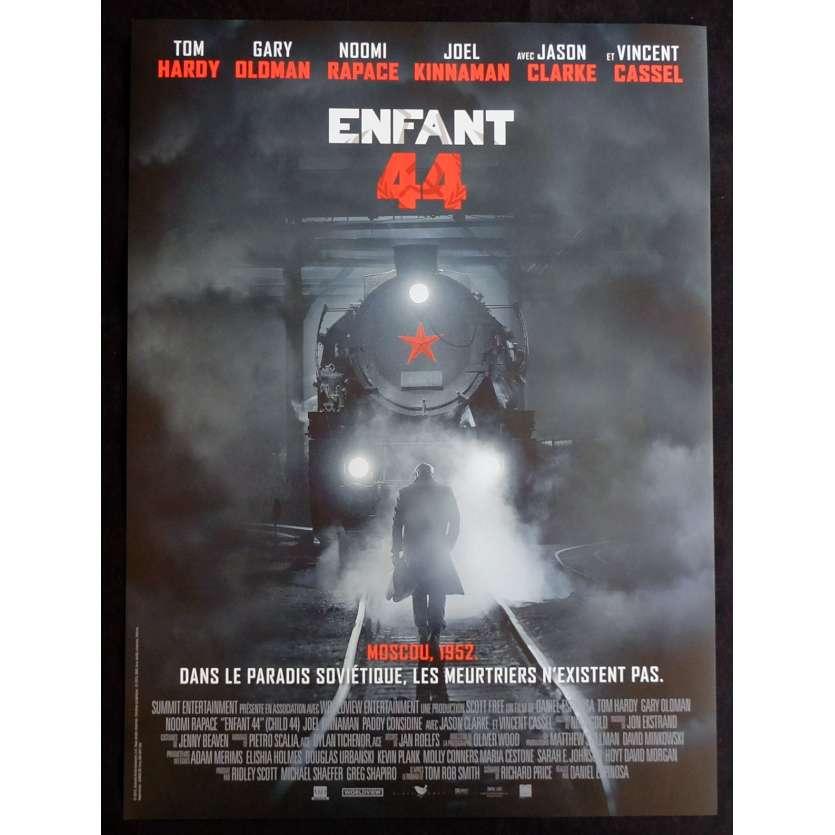 CHILD 44 French Movie Poster 15x21 - 2015 - Daniel Espinosa, Tom Hardy