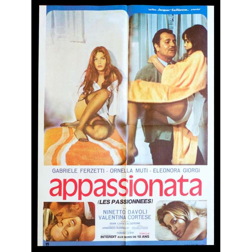 APPASSIONATA Affiche de film 60x80 - 1974 - Ornella Mutti, Gian Luigi Calderone