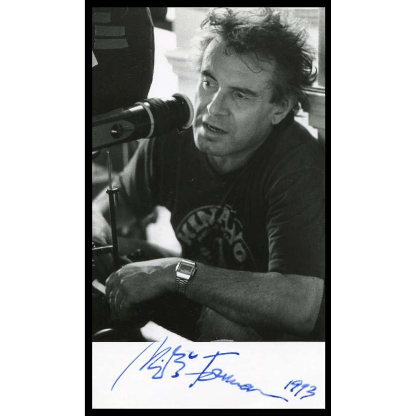 MILOS FORMAN Photo Signée 11,5x19,5 - 1993 - Amadeus