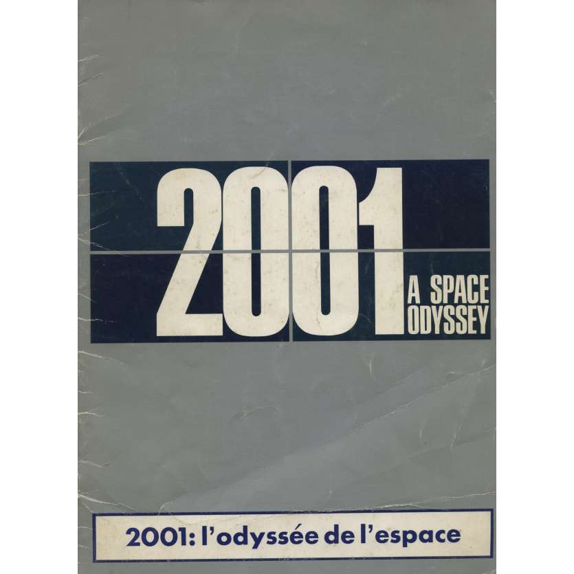 2001: A SPACE ODYSSEY French Pressbook 9x12 - 1968 - Stanley Kubrick, Keir Dullea