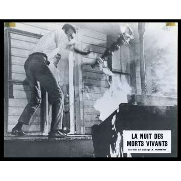 LA NUIT DES MORTS VIVANTS Photo de film N9 21x30 - 1968 - Duane Jones, George A. Romero